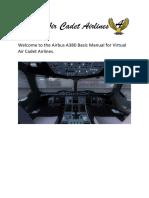 Airbus A380 Basic Manual