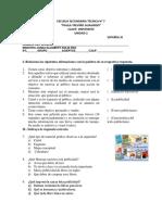 Exam Español 3-2