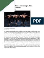 Poéticas de La Danza y El Cuerpo. Una Aproximación Literaria