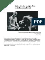 La Desterritorialización Del Cuerpo. Una Reflexión Acerca de La Danza Butoh