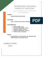 325245790 Diagnostico Del Distrito de Huacar Huanuco
