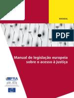 Manual de Legislação Europeia Sobre o Acesso à Justiça