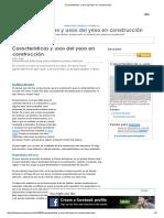Características y Usos Del Yeso en Construcción