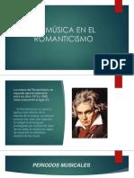 La música en El Romanticismo