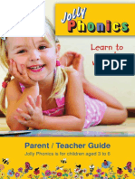 jolly teacher and parent handbook