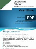5. Direito Constitucional I - Princípios Fundamentais