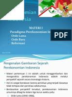 1 TM Paradigma Perekonomian Indonesia Pd Masa Orde Lama Baru Dan Reformasi1