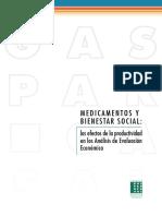 Libro Medicamentos y Bienestar Social