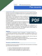 Plan Docente 1315