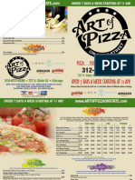 Art of Pizza on State Menu
