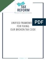 Tax Reform Framework