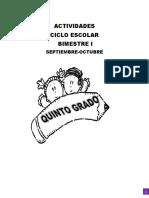 5to. Grado 2016-2017. Anexo Editorial Md Bloque 1