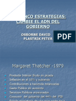 Las Cinco Estrategias -Osborne David - Plastrik Peter