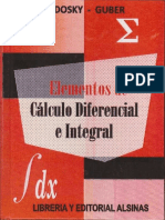 ELEMENTOS DE CALCULO DIFERENCIAL E INTEGRAL SADOSKY COMPLETO.pdf