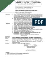 8.4.3.b SK Tentang Sistem Pengkodean, Penyimpanan, Dokumentasi Rekam Medis