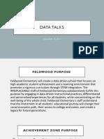 september 26th- data talk