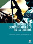 EL ORIGEN DEL COMPORTAMIENTO  EN LA GUERRA Comprender y prevenir las violaciones del DIH. Daniel Muñoz-Rojas y Jean-Jacques Frésard * Comité Internacional de la Cruz Roja, febrero de 2004