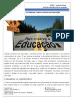 Fundamentos Historicos e Psicologicos Da Educação