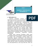 Bab 1 Hakikat Teknologi Pendidikan