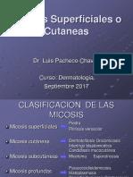 05. DERMATOLOGÍA-Micosis Superficiales 2017.ppt