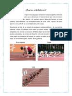 ¿Qué Es El Atletismo?