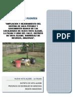 Estudio de Fuentes Vista Alegre