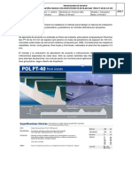 Pdt Instalación Cubierta y Terminaciones en Ojalateria FCB