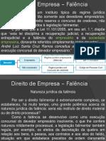 Direito Empresarial - Falência 1
