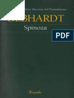 Gebhardt. Spinoza