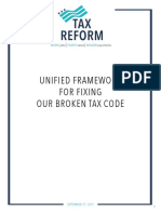 Unified Framework for Fixing Broken Tax Code - Tax Reform Framework
