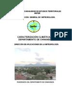 4. Caracterizacion Climatica CHINANDEGA