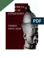Dr. Cheikh Anta Diop - A Origem Africana da Civilização ptbr completo.pdf