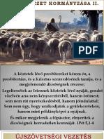 Gyülekezeti Kormányzás  II.