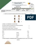 Formato Para Las Evaluaciones Parciales 2017