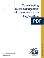 Co ing Project Management Initiatives Across the ion