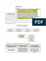 Marketing Research Notes