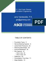 030614 -Session X Foundation Engineering