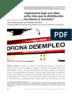 Entrevista Postone Encrucijadas 2016