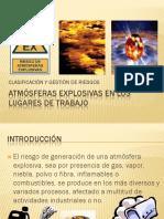 Atmósferas Explosivas en Lugares de Trabajo