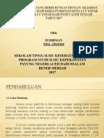 Ppt Proposal faktor-faktor gastritis