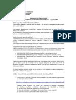 Preguntas Frecuentes Ley 27806