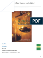 The Judicial Affidavit Rule Features and Insights Paperbound