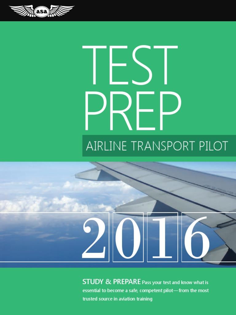 2016 ATP Test Prep | Flight Instructor | Identity Document