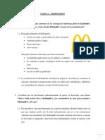 CASO 1.1 – McDONALD'S