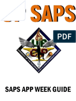 Saps App Week Guide