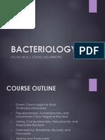 Bacteriology II Final