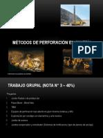 Métodos de Perforación Parte I