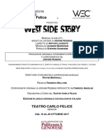 comunicato stampa - West Side Story + cast