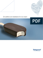 Emulsifiers and Stabilisers for Ice Cream