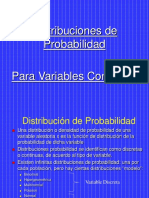 Presentación Power Point - Distribuciones Continuas - Aplicaciones.ppt